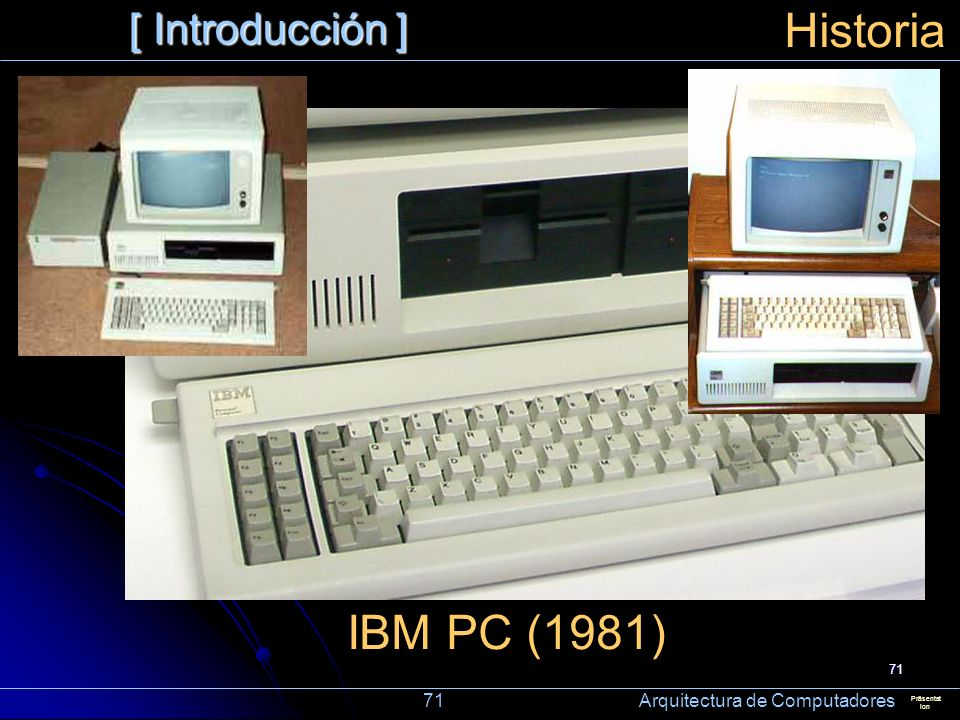 Historia IBM PC (1981) [ Introducción ]